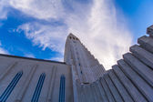 Kyrkan hallgrimskirkja i reykjavik — Stockfoto