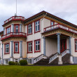 Stock Photo: Upmarket double storey house in Iceland