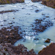 Stock Photo: Melt water river in Iceland