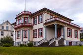 Upmarket double storey house in Iceland — Stock Photo