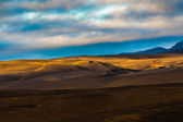 Rolling volcanic hills in Iceland — Stock Photo
