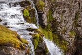 Waterfall Kirkjufellsfoss in Iceland — Stock Photo