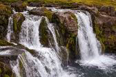 Waterfall Kirkjufellsfoss in Iceland — Stock Photo