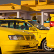 Stock Photo: Taxis on Cape Verde