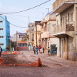 Run down street on Cape Verde — Stock Photo #39678449