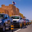 Stock Photo: Local cabs on Cape Verde