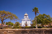 White church on Cape Verde — Stock Photo