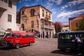 Square on Cape Verde — Stock Photo