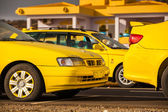 Taxis on Cape Verde — Stock Photo