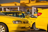 Taxis on Cape Verde — 图库照片
