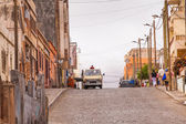 Street on Cape Verde — Stock Photo