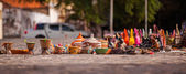 Market stand on Cape Verde — Stock Photo