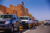 Local cabs on Cape Verde — Stock Photo
