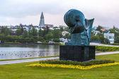 Sculpture by Einar Jonsson — Stock Photo