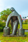 Sculpture by Asmunder Sveinsson — Stock Photo