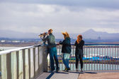 On the roof of the Saga Museum, Reykjavik — Stock Photo