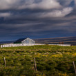 Stock Photo: Old wooden farm building in Iceland