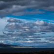 Stock Photo: Storm clouds gathering over Iceland