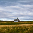 Stockfoto: Picturesque rural church in Iceland