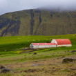 Rural farm in Iceland — Stockfoto