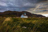 Picturesque rural church in Iceland — Stock Photo