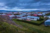 Houses in Snaefellsnes in Iceland — Stock Photo