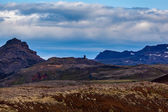 Volcanic landscape in Snaefellsnes in Iceland — Stock Photo