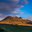 Stock Photo: Cones of extinct volcanoes in Iceland