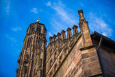 Frauenkirche in Nuremberg — Stock Photo