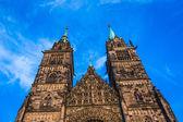 St. Lorenz in Nuremberg — Stock Photo