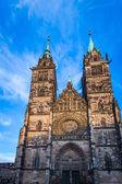 St. Lorenz in Nuremberg — Stockfoto