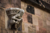St. Lorenz in Nuremberg — Stock Photo