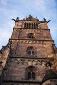 St. Lorenz in Nuremberg — Stock fotografie
