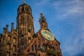 Frauenkirche in Nuremberg — Stock Photo