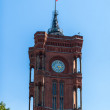 Rotes Rathaus Berlin — Stock Photo