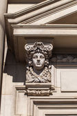 Details of marble building — Stock Photo