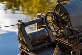 Industrial crank — Foto Stock