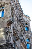 Decorated facade — Stock Photo