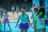 The Color Run in Berlin — Foto Stock