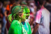 Die farbe ausführen — Stockfoto