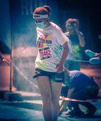 Barva běh — Stock fotografie