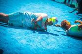 Koşmak renk — Stok fotoğraf