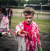 Zombie Run — Stock Photo