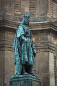 Statue of Charles IV — Stock Photo