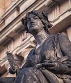 Sculpture at the Rudolfinum — Stock Photo