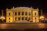 Rudolfinum at night — Stock Photo