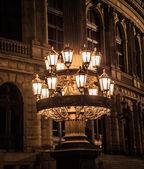 Lantern at the Rudolfinum — Stock Photo