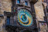 Medieval Astronomical Clock — Stock Photo