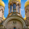 Golden cupola of St Elizabeths Church — Stock Photo #48682109