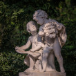 Statue of Two Boys Talking — Stock Photo #48682621